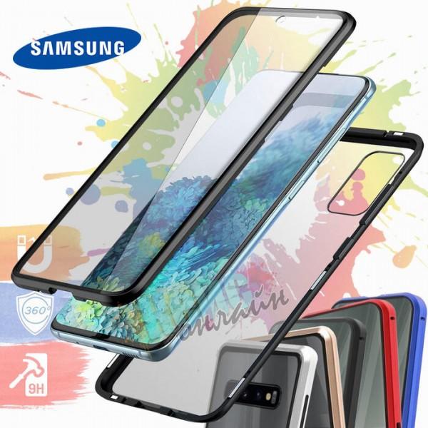Samsung S21 Magnetic Case Предно и задно стъкло