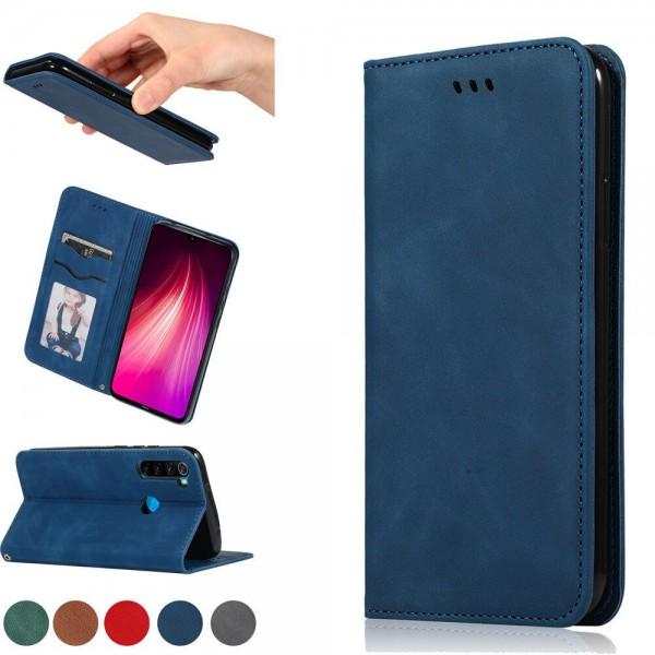 Кожен тефтер с магнит Xiaomi Note 9 Pro/Note 9s