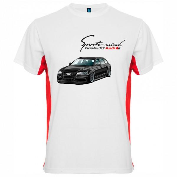Тениска Audi Black Sport