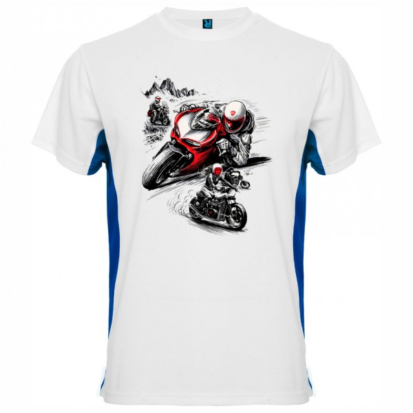 Тениска Moto Black