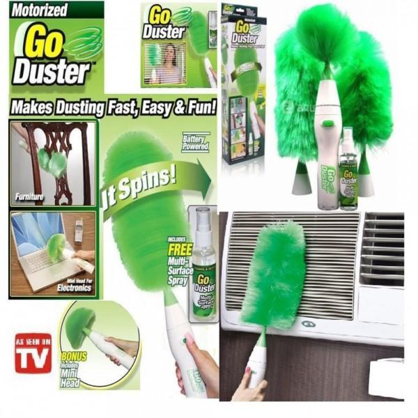 Комплект електрическа четка за прах