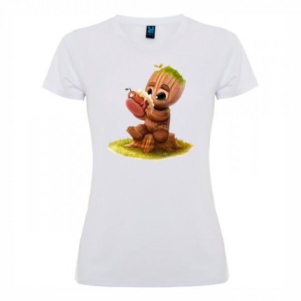 Дамска тениска Дърво-човече