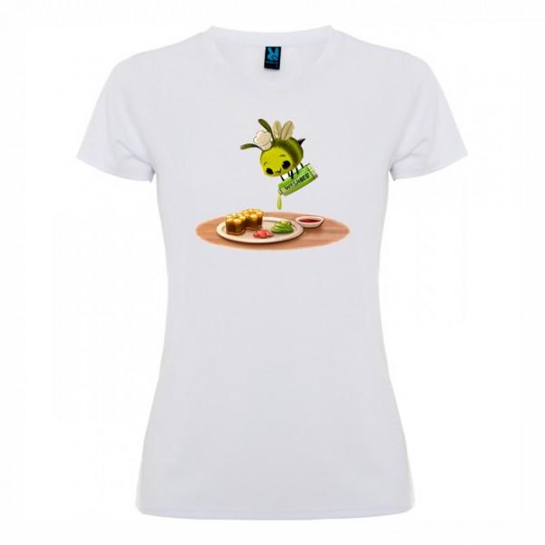 Дамска тениска Пчеличка зелена