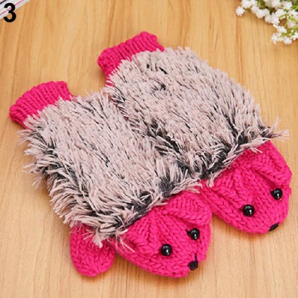 Зимни ръкавици розови